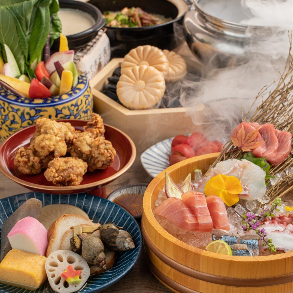 【2月限定】郷土料理と名物堪能コース*2時間飲み放題 7品 5000円(税込)